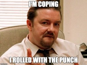 david brent rolled with the punch