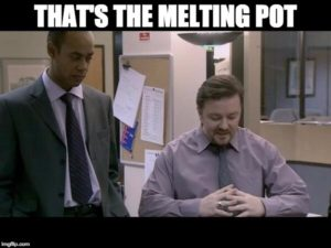 david brent melting pot
