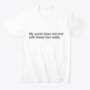 four walls t shirt