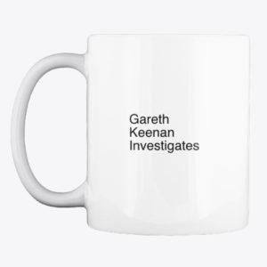 gareth keenan investigates mug